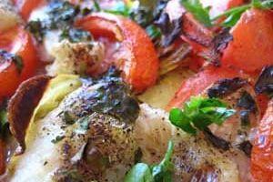 Baccalà al forno e patate