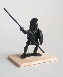 La peinture des figurines 15mm antique pas à pas.