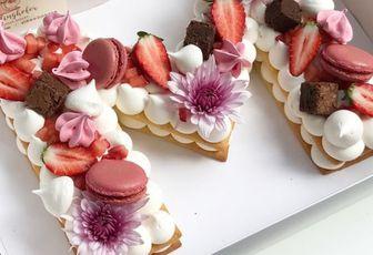 """Gâteau """"M"""" comme Mamie"""