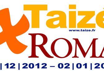 TAIZE : 40000 JEUNES A ROME - LA RENCONTRE SUR CE SITE