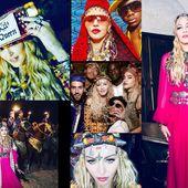 Berber birthday : Madonna nous en a mis plein la vue !