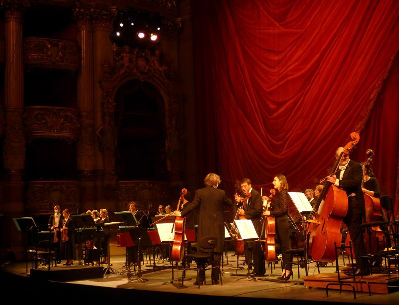 L'orchestre de l'Opéra national de Paris