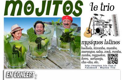 Samedi 3 octobre – MOJITOS TRIO