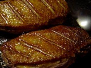 Magret de Canard Sauce au Miel et à l'Orange