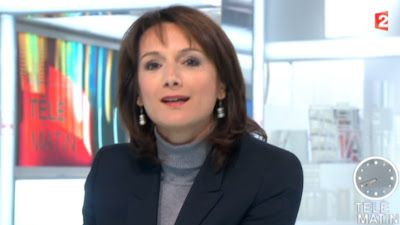 2012 12 13 - LAURENCE OSTOLOZA - FRANCE 2 - TELEMATIN @07H40
