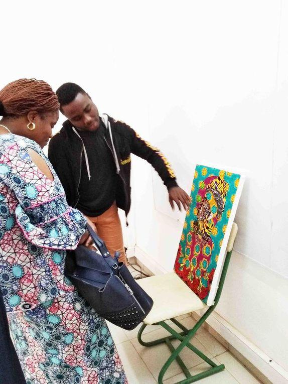 Diaporama ; Présentation des tableaux par les artistes
