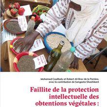 Afrique francophone, protection des obtentions végétales et activisme (3)