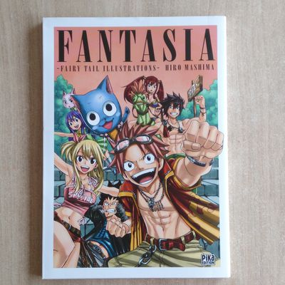 [ARRIVAGE] Artbook Fantasia - Fairy Tail Illustrations