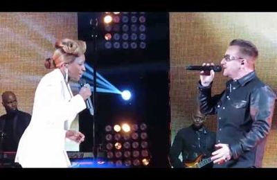 Mary J. Blige ft. Bono - Moment of Surrender-Robin Hood Benefit 2013
