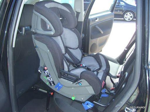 Les sièges RF (dos à la route) dans les voitures