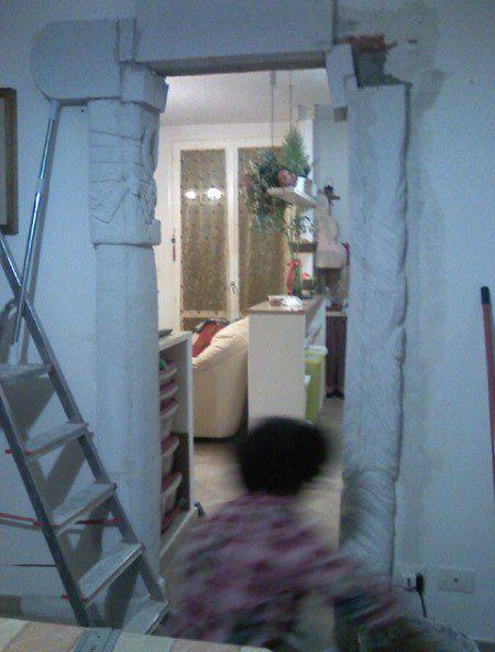 EseguEseguo lavori di decorazione con gasbeton