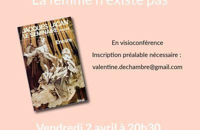 ACF MC - SEMINAIRE d'ETUDE - La femme n'existe pas - vendredi 2 avril - en visioconférence