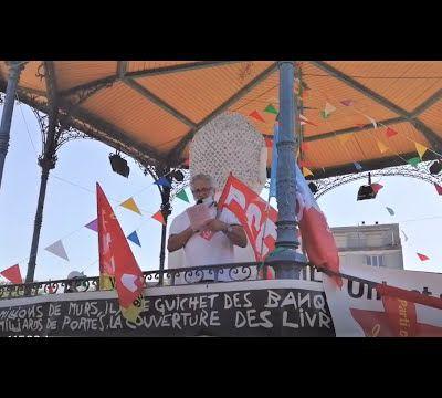 intervention du PCF Thouarsais à Parthenay pour défendre les libertés