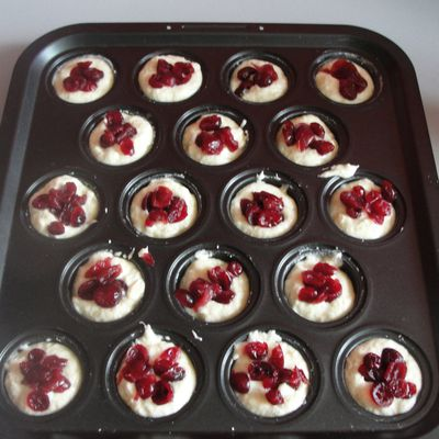 financier cramberries