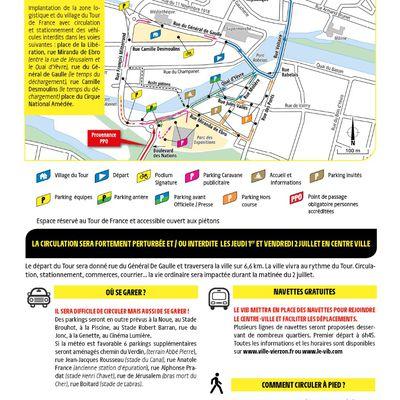 Tout de France à Vierzon : où stationner, comment circuler les 1er et 2 juillet