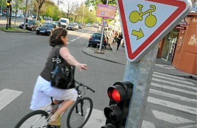 Attribution du Guidon d'or et du Clou rouillé 2014 par les usagers cyclistes