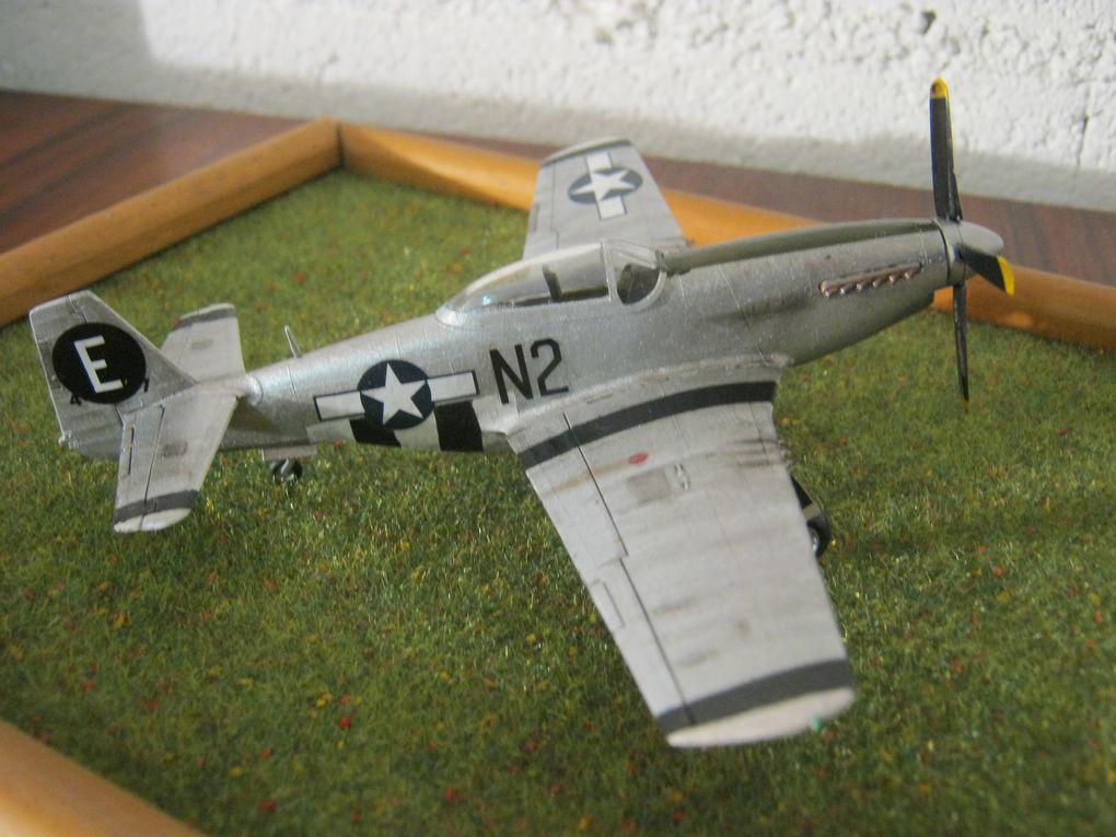 Le P51 D Mustang et sa maquette [HELLER 1/72]