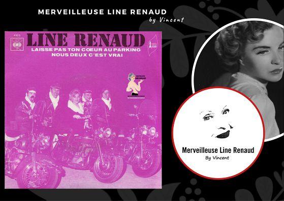 45 TOURS: 1970 CBS - 4925 - Line Renaud
