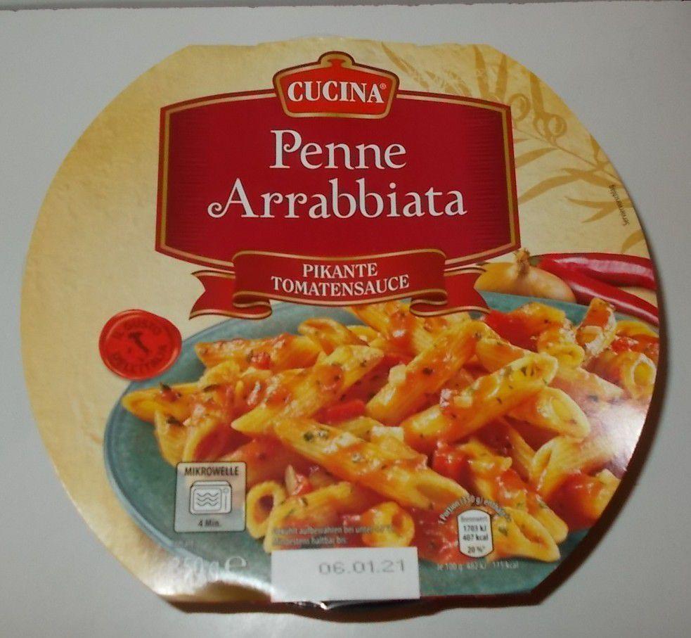 Aldi Cucina Penne Arrabbiata Pikante Tomatensauce