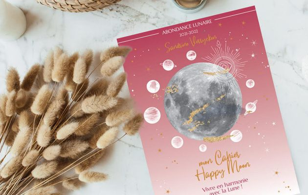 Mon cahier Happy Moon