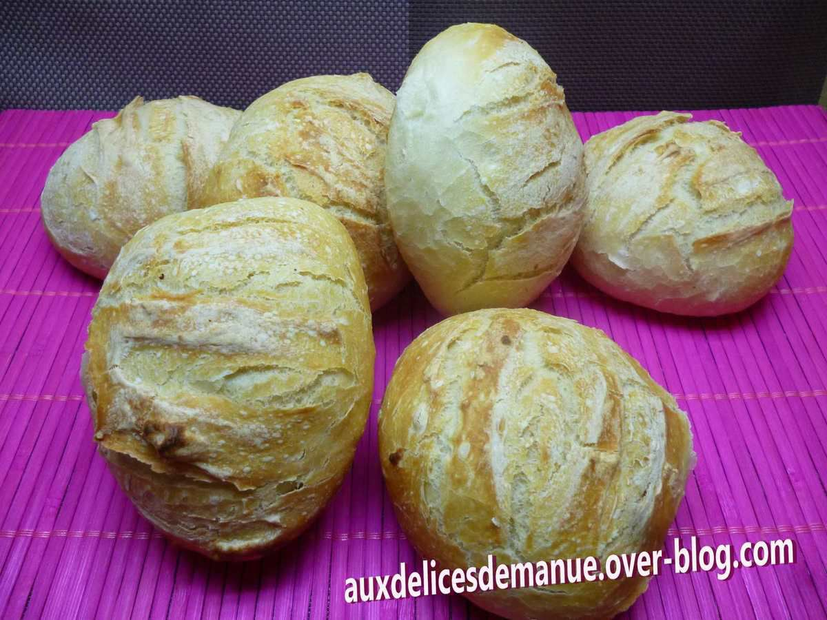 boules de pain cocotte