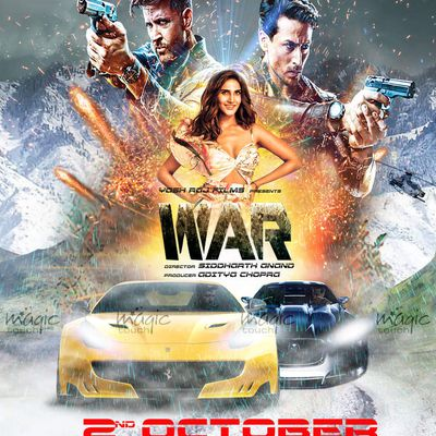 WAR 2019: 2nd film poster made by MT (DEMO Version)