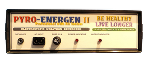 PYROENERGEN II Am Fantastic Electrstatic Therapy Machine! Get rid of Diseases!