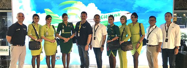 Inmarsat's GX Aviation inflight broadband now live on Indonesian low-cost carrier Citilink's first aircraft