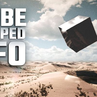 UFO SIGHTING NEWS : Project MOON DUST, Cube Shaped UFO Found in Sudan in 1967 Resurfaces 👽