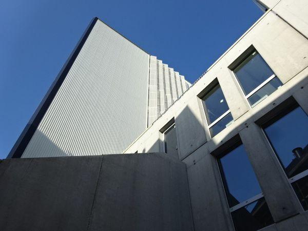 Angers, Cours Saint-Laud, Intencity, Jeux de façades avant, rue Fulton, Cl. Elisabeth Poulain