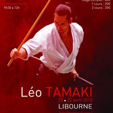 Léo Tamaki à Libourne, 20 au 22 avril