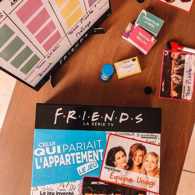 Celui qui pariait l'appartement ! FRIENDS le jeu