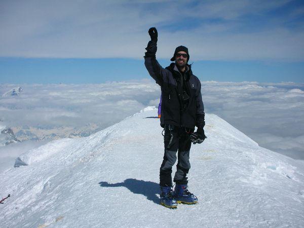 Mont-Blanc: Traversée 3 Monts>Face nord, Grands Mulets