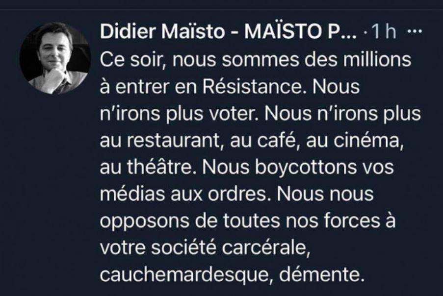 #PassSanitaire  #VaccinObligatoire #giletsjaunes