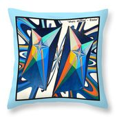 Shots Shifted - Etoile Variant Throw Pillow for Sale by Michael Bellon