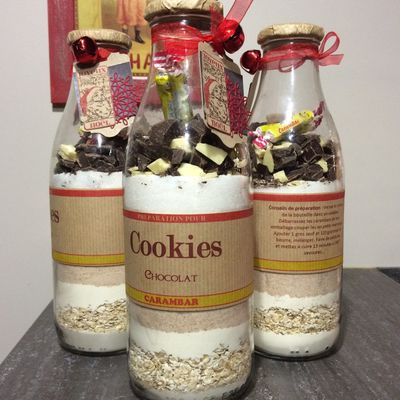 bouteille a cookies