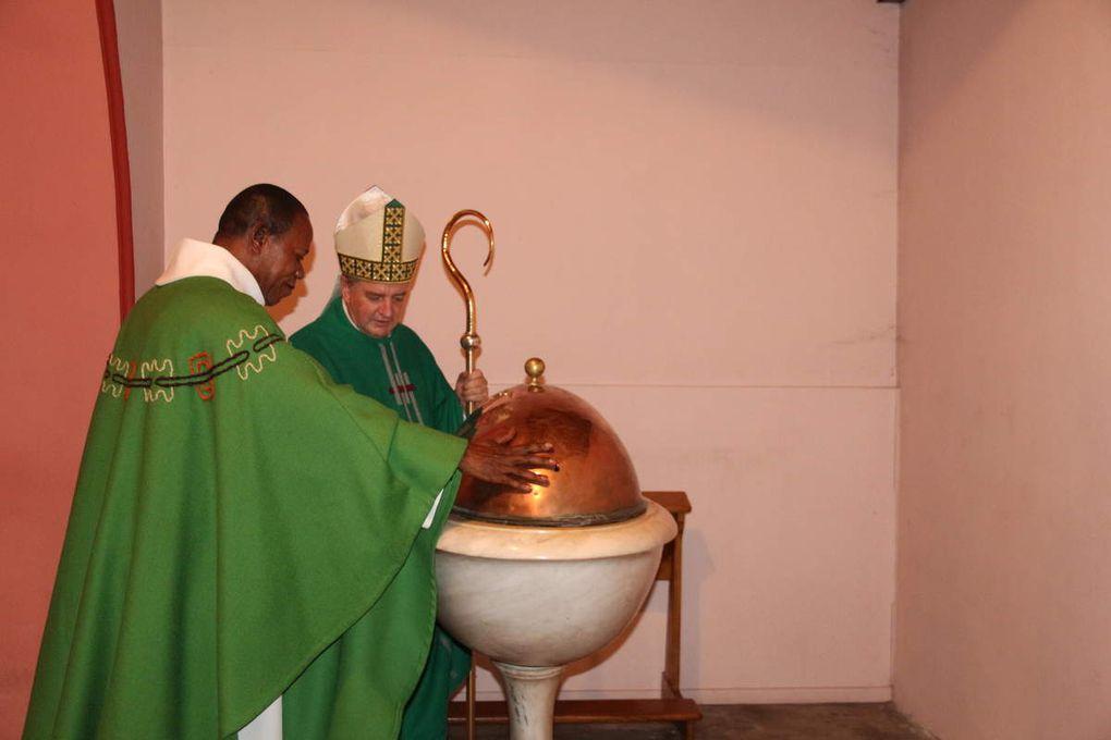 Installation de Mr l'abbé Roger Makaya