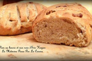 Pain au beurre et au noix inspiré d'Eric Kayser