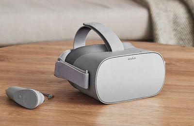Oculus Go de Facebook, le casque de VR autonome est dispo