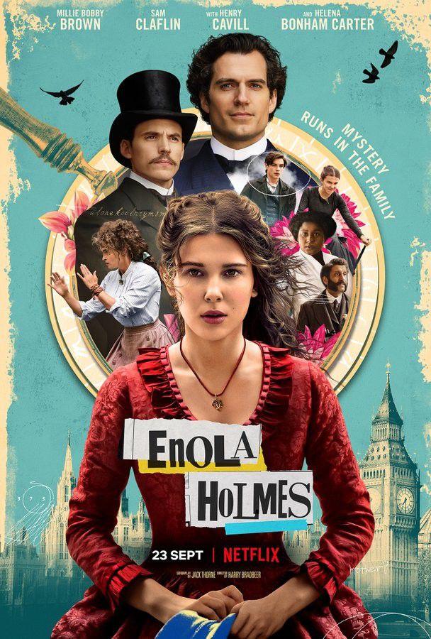 Critique Ciné : Enola Holmes (2020, Netflix)