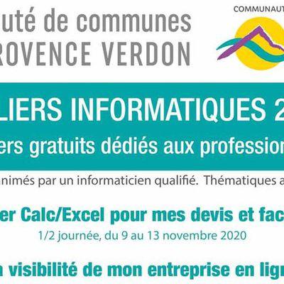 CCAPV : Maintien des ateliers informatiques dédiés aux entreprises !