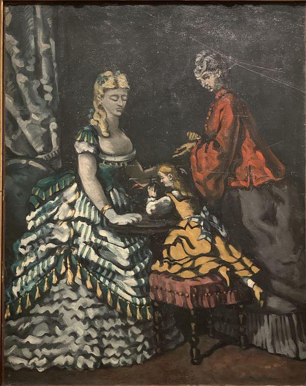 Cézanne : natures mortes, l'homme à la pipe, scène d'intérieur, la montagne Sainte Victoire...