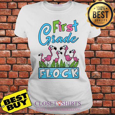 Flamingo First Grade Flock shirt