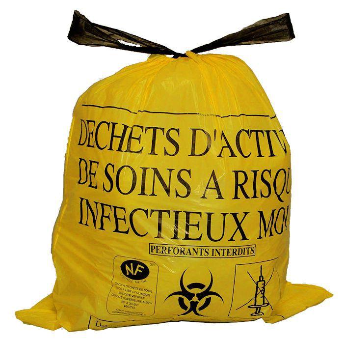 Sacs poubelles spéciaux DASRI pour Déchets infectieux et hautement infectieux dans tous les hôpitaux …Mais pas dans les rues de ces sacs de Sécurité = logiquement les masques utilisés et jetés ne sont pas…infectieux (donc pas… Infectés !) = il n'y a pas de… contamination au réel ! Puisque pas de sacs DASRI…de récupérations de masques qui sont supposés (seulement supposés)…contagieux ! Donc, au réel, rien de contagieux en eux (et donc leurs porteurs non Contagieux non plus) s'ils peuvent…trainer partout, ces masques,  au point que les enfants jouent avec !!