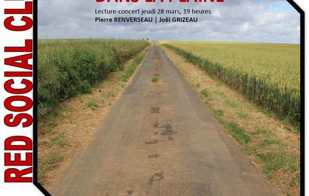 """Lecture-Concert """"Dans la plaine"""""""