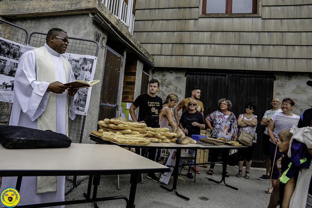 St Julien du Verdon  ; fête du pain 2019