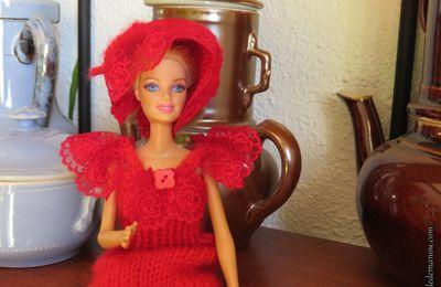 Défilé de mode pour Barbie...