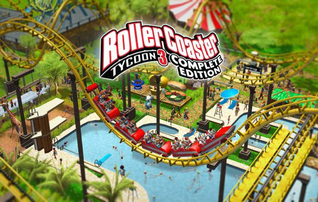 [ACTUALITE] RollerCoaster Tycoon 3: Complete Edition - Le 24 Septembre sur PC et Switch