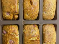 Minis Cakes Chorizo Emmental