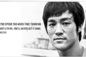 Bruce Lee - English - 7 Quotes